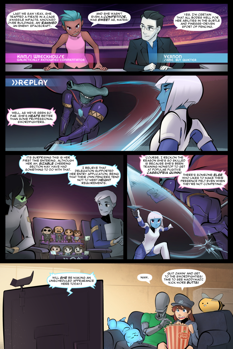 Cassiopeia Quinn - Past the Edge, Page 2